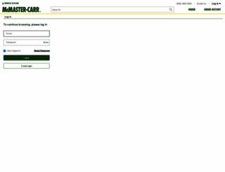 mcmaster.com screenshot
