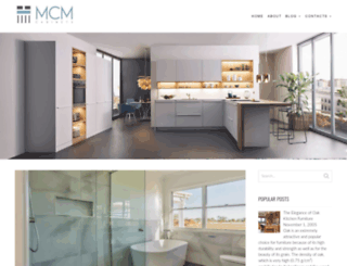 mcmcabinets.com.au screenshot
