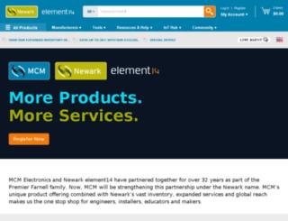 mcmelectronics.com screenshot