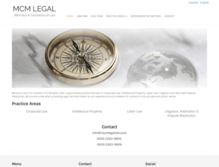 mcmlegalnet.com screenshot