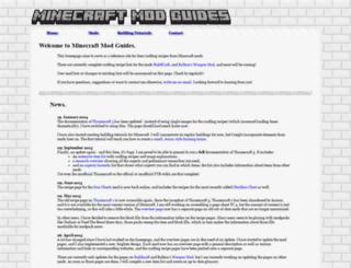 mcmodguides.com screenshot