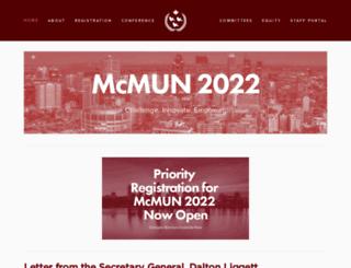 mcmun.org screenshot