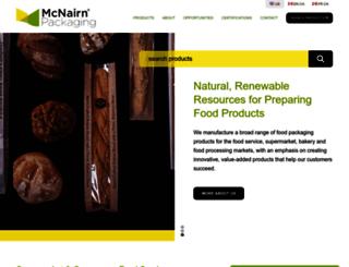mcnairnpackaging.com screenshot