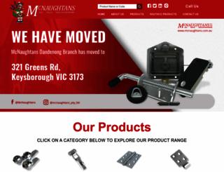 mcnaughtans.com.au screenshot