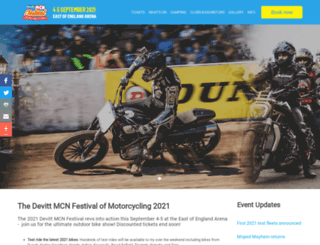 mcnfestival.com screenshot