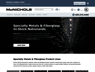 mcnichols.com screenshot