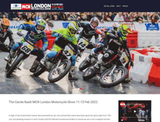 mcnmotorcycleshow.com screenshot