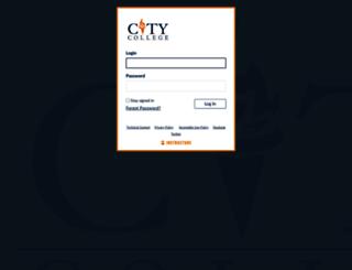 mco.citycollege.edu screenshot