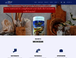 mcocean.com screenshot