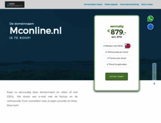 mconline.nl screenshot