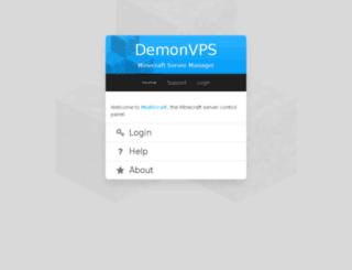mcp-us.demonvps.com screenshot