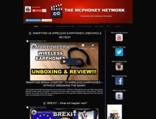 mcphoney.com screenshot