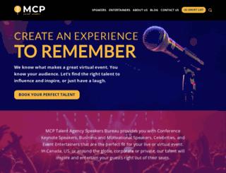 mcpspeakers.com screenshot