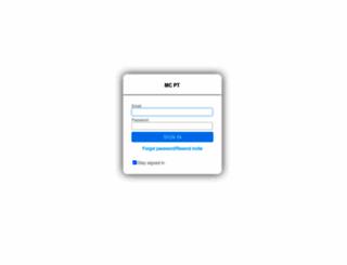 mcpt1.trainerize.com screenshot