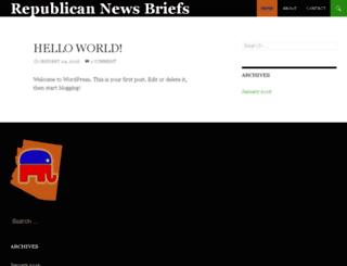 mcrcbriefs.org screenshot