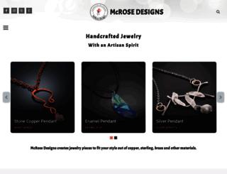 mcrosedesigns.com screenshot