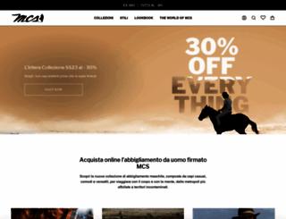 mcs.com screenshot