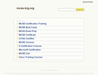 mcsa-krg.org screenshot