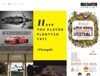 mcsaatchi.co.in screenshot