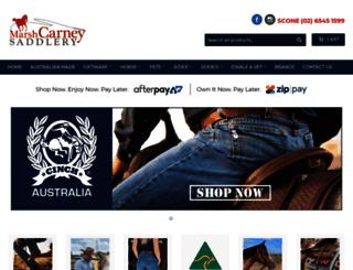 mcsaddlery.com.au screenshot