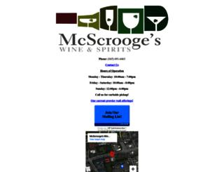 mcscrooges.com screenshot