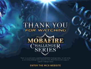 mcsesports.com screenshot