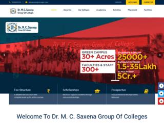 mcsgoc.com screenshot