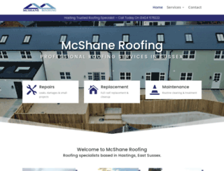 mcshaneroofing.co.uk screenshot