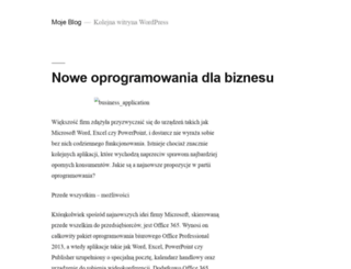 mcsoftware.pl screenshot