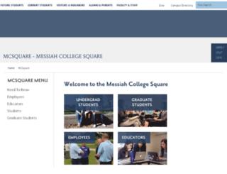 mcsquare.messiah.edu screenshot