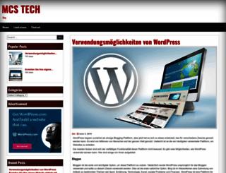mcstech.co.uk screenshot