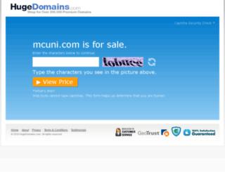 mcuni.com screenshot