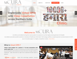 mcura.com screenshot