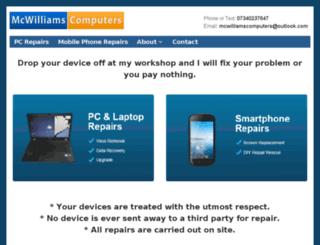 mcwilliamscomputers.tk screenshot