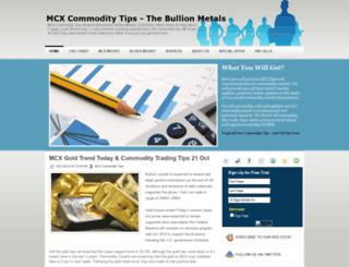 mcx-commodity-tips.blogspot.com screenshot