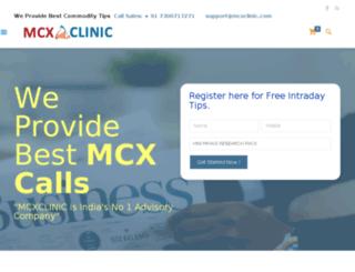 mcxclinic.com screenshot