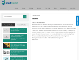 mcxmarket.co.in screenshot