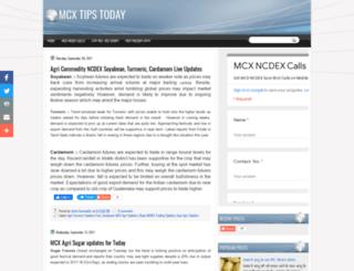mcxtipscalls.blogspot.in screenshot
