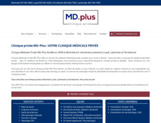 md-plus.ca screenshot