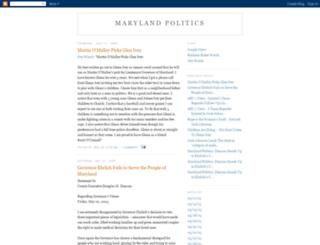 md-politics.blogspot.com screenshot