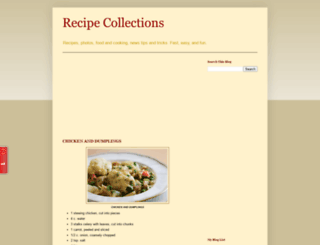 md-recipe-collections.blogspot.com screenshot