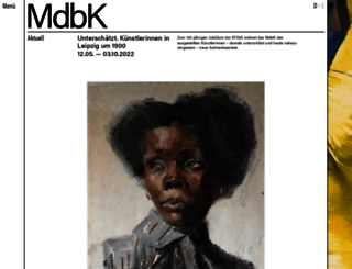 mdbk.de screenshot