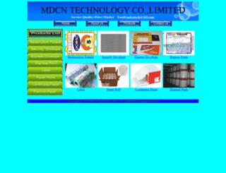 mdcntech.com screenshot