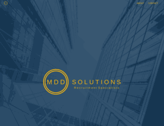 mdd-solutions.com screenshot