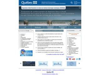 mddelcc.gouv.qc.ca screenshot