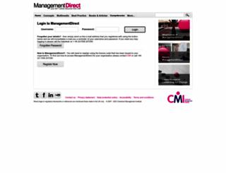 mde.managers.org.uk screenshot