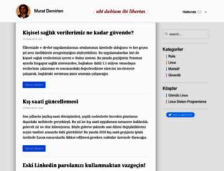mdemirten.yh.com.tr screenshot