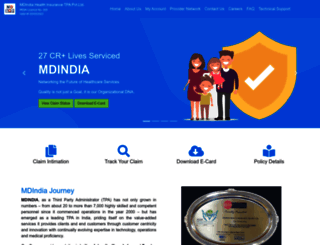 mdindiaonline.com screenshot