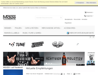 mdize.com screenshot