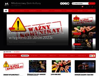 mdk.gliwice.pl screenshot